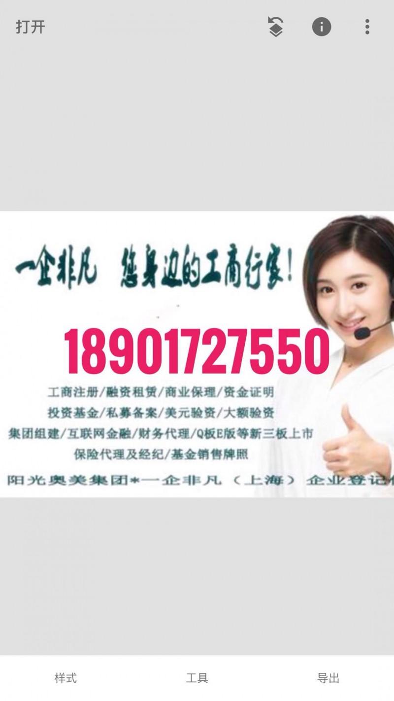 收购上海投资公司的价格