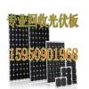 回收太阳能发电板15950901968太阳能采购