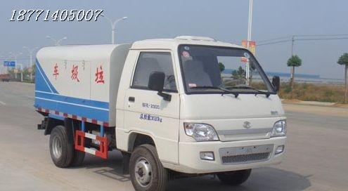 小型福田密封垃圾车 垃圾箱环卫专用车购置厂家