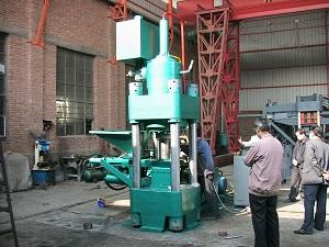 江西南昌高密度压饼机废旧金属机械制造中心