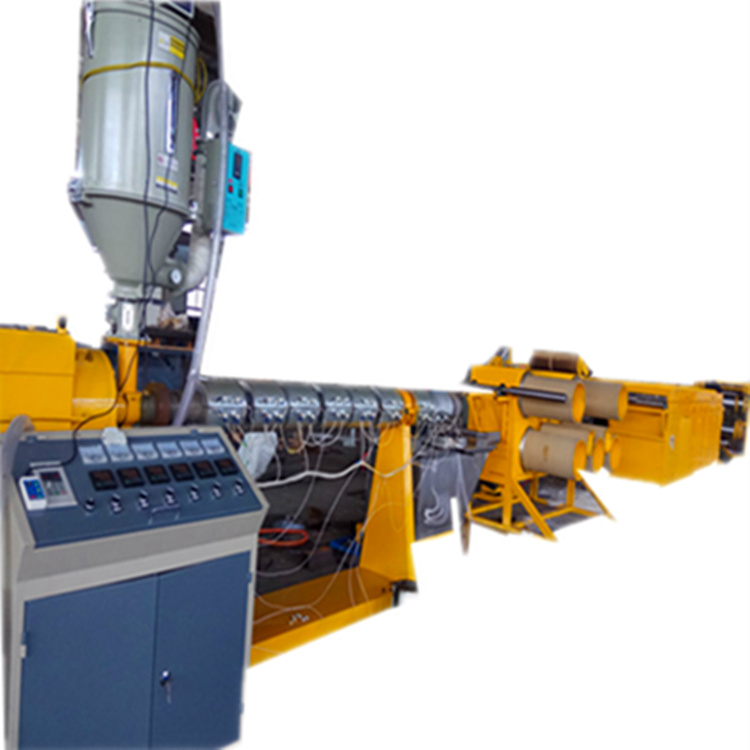 塑料拉丝机pp,pe单丝抽丝机- 圆丝拉丝机组设备