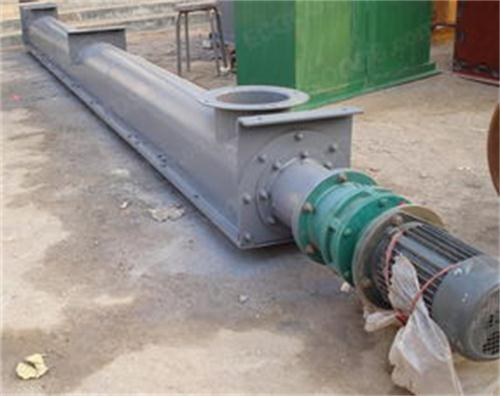 厂家直销 螺旋绞龙 刮板输送机 碎石U型螺旋输送机
