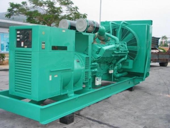 中山回收小松發電機-誠信回收