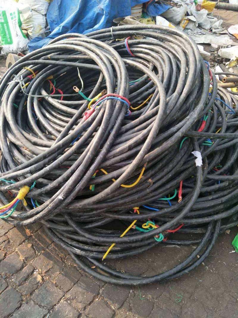 东莞沙田报废旧电缆回收价格高价回收