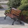 公园椅实木花边座椅 式新颖设计独特