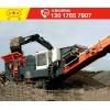 履帶式移動石子破碎機是流水作業機制砂生產機器