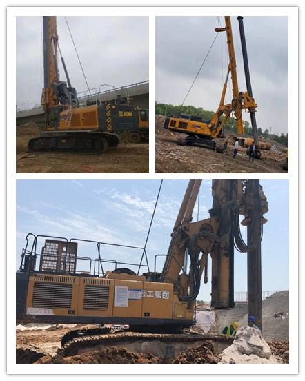 西安推进重大项目建设  旋挖钻机优惠出租信息