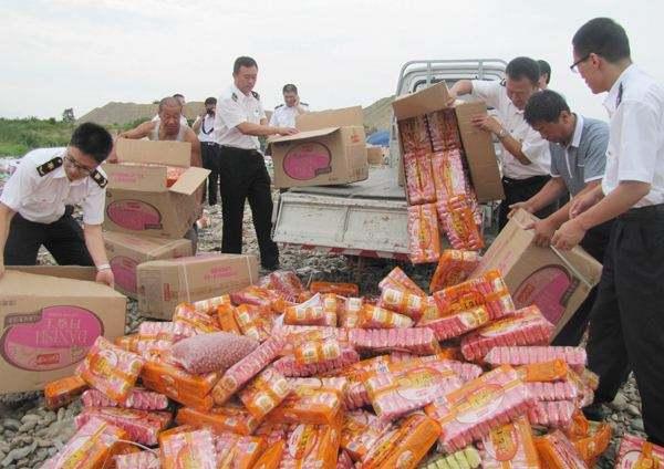 南沙區不合格食品報廢銷毀共同發展