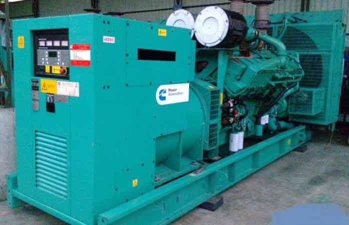 增城市旧柴油发电机组回收