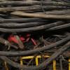 珠海香洲區報廢電力帶皮橡膠電纜電線價格