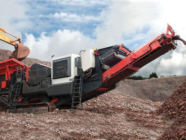 移动碎砂机,特立独行本领强,碎砂不止一面wzz88
