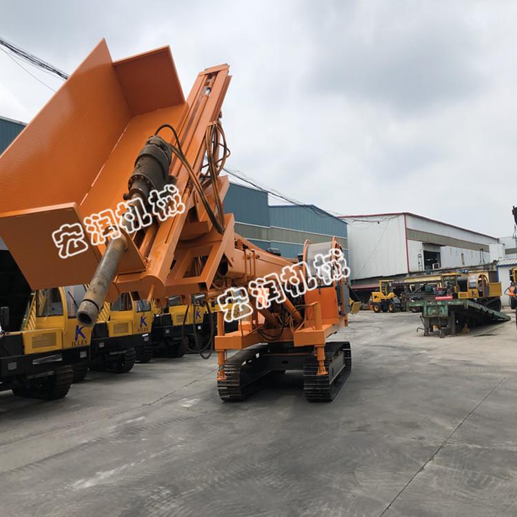 锚杆基坑支护钻机 能升高10米的履带式全液压锚固钻机报价