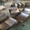 凯达机床CK6146/6140数控车床钣金伸缩防护