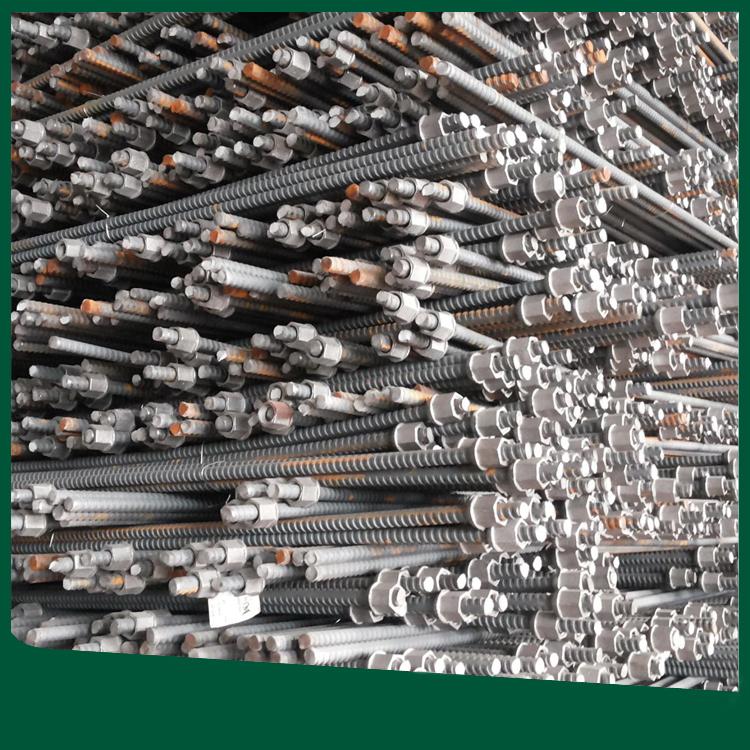 供应螺纹钢锚杆 螺纹钢锚杆价格 煤矿矿用锚杆
