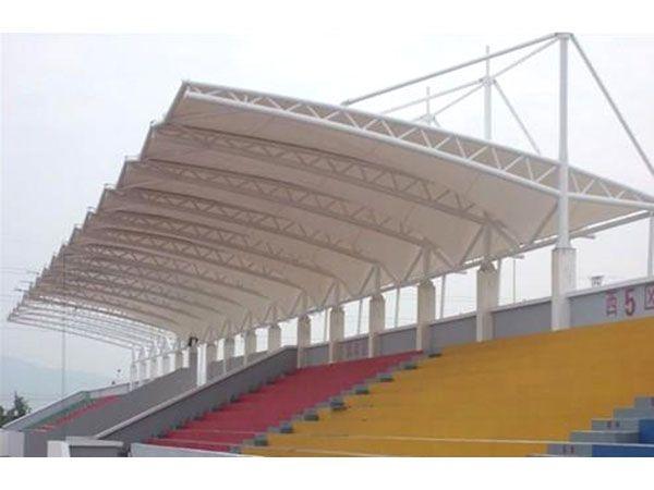 济宁膜结构体育场看台罩棚专业厂家-济宁体育场膜结构遮阳棚设计