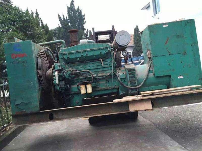 广州回收工厂旧发电机公司诚信企业