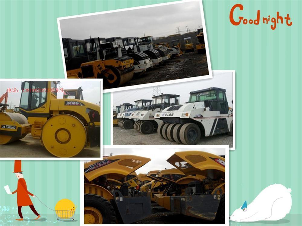 八成新徐工、柳工18吨、20吨、22吨、26吨振动压路机出售