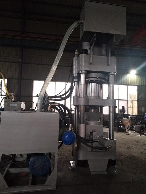 呼和浩特市高密度生铁屑压块机压块密度接受定制厂家L