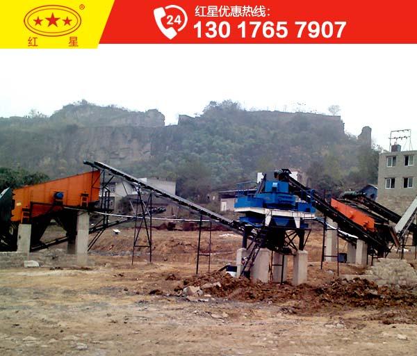 时产百吨的1213石子制砂机设备