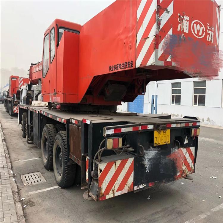 高价回收8-100吨二手吊车