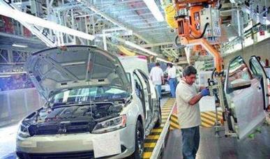 墨西哥6月汽車產量降幅低于前兩月