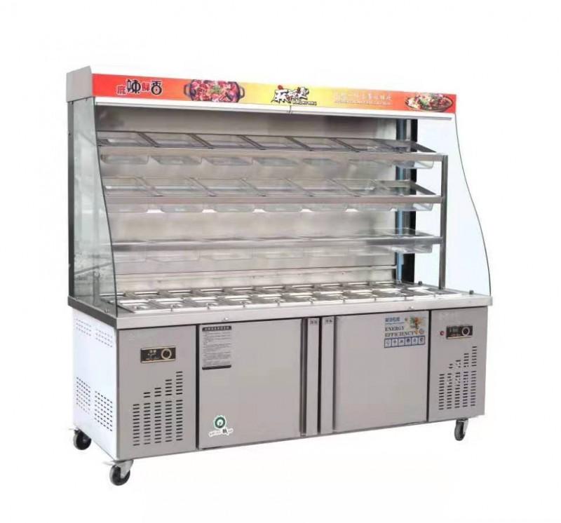 郑州麻辣烫柜2米5麻辣烫柜多少一台