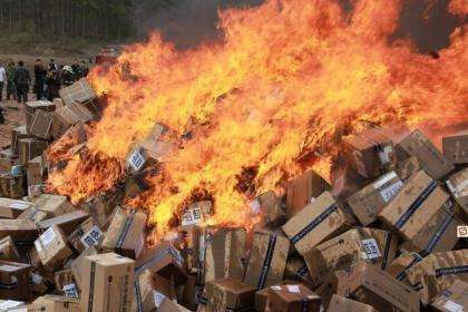 广州销毁报废产品公司