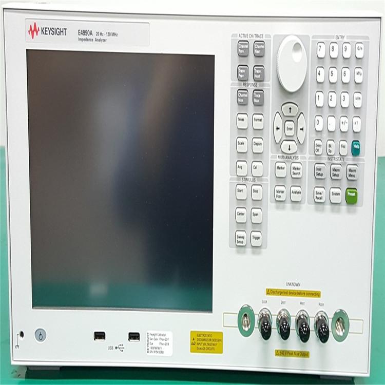 现金高价收购 Agilent E4990A 二手阻抗分析仪